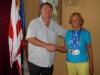 V dňoch 3. – 17. júna sa v talianskom letovisku Riccione konali Majstrovstvá sveta Masters 2012. Košičanka Magdaléna Kapcárová na nich vybojovala štyri medaily.