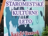 Štvrtkový podvečer s pekným počasím prial hudobníkom zo skupiny Milkshejk band,  ktorí koncertovali so Samom Tomečkom v rámci Staromestského kultúrneho leta.