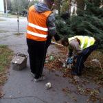 Dnes aktivační pracovníci robili poriadok v lokalitách ulíc Čls. armády, Magurská a Vojenská.