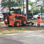 Okrem iných stavebných prác aktuálne v Starom Meste prebiehajú aj práce súvisiace s opravou chodníkov na Tatranskej ulici 2 a 4.
