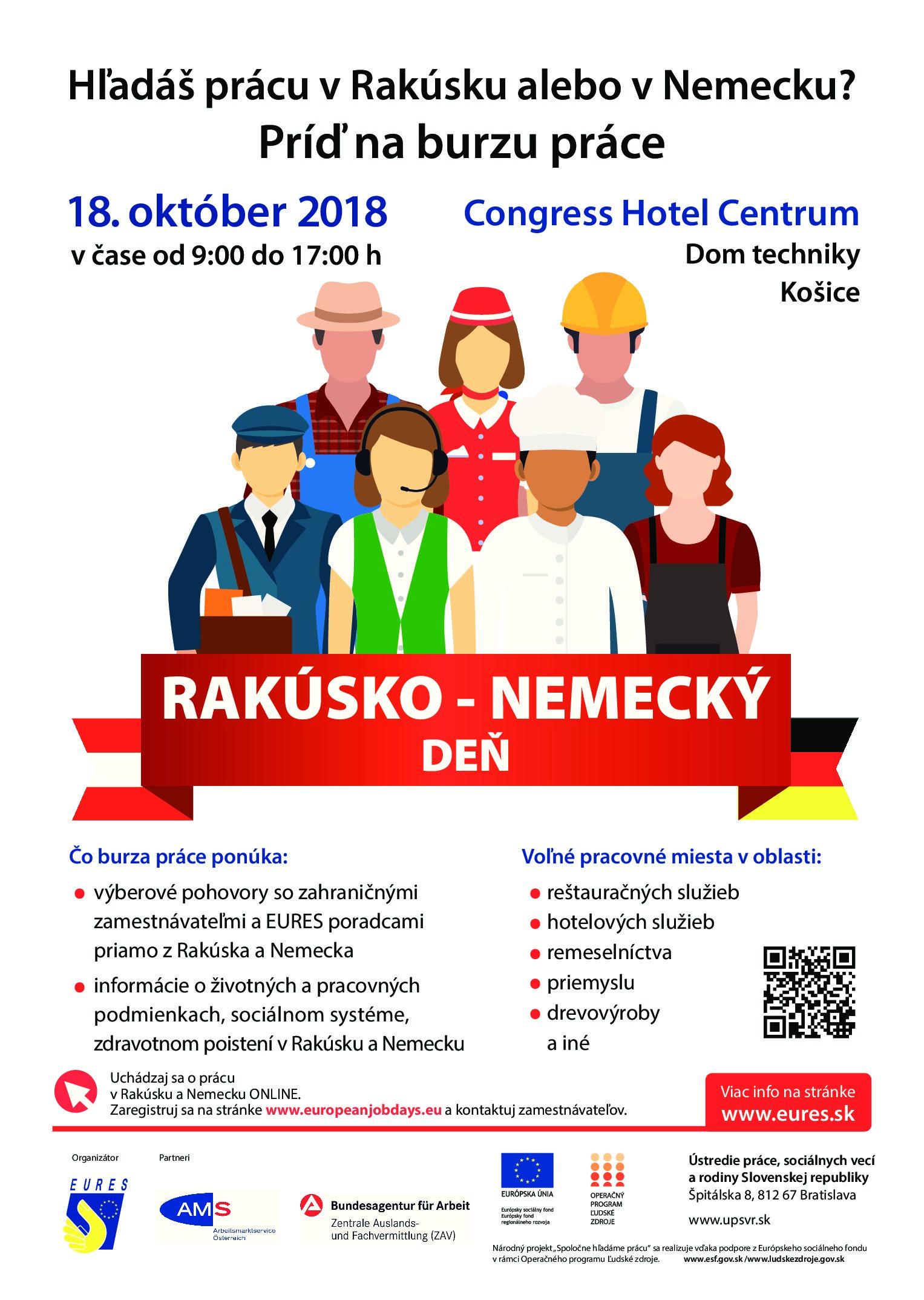 Ak uvažujete o práci za hranicami Slovenska, práve pre vás je určený 7. ročník veľtrhu práceRakúsko – nemecký Deň, ktorý sa po prvýkrát uskutoční aj vKošiciach. Rezervujte si naň čas vo štvrtok 18. októbra medzi 9.00 a 17.00 hod. vpriestorochCongress Hotel Centrum naJužnej triede 2A. Veľtrh práce sa bude konať aj formou online,pre tých, ktorí […]