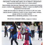 BRÚSTE KORČULE, HURÁ NA ĽAD Chcete si užiť nádherné jarné počasie spolu s korčuľovaním na ľade grátis? Poznáte lepší nápad, ako sa zabaviť s deťúrencami počas jarných prázdnin, ktoré sú v plnom prúde? Staromestský starosta Igor Petrovčík Spolu s poslancami srdečne pozýva všetkých Staromešťanov, veľkých i malých na BEZPLATNÉ prázdninové korčuľovanie. Každý deň do piatka […]